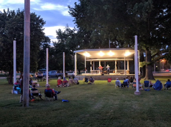 Fairview Park Bandstand